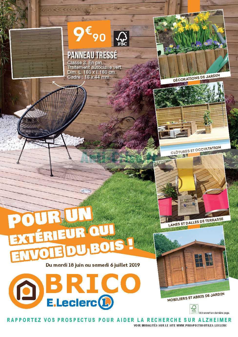 Catalogue Leclerc Du 18 Juin Au 06 Juillet 2019 Brico