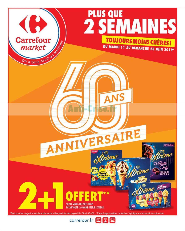 Catalogue Carrefour Market du 11 au 23 juin 2019