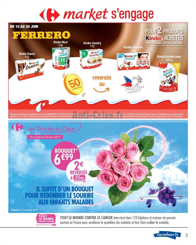 Catalogue Carrefour Market du 11 au 23 juin 2019 - Catalogues Promos