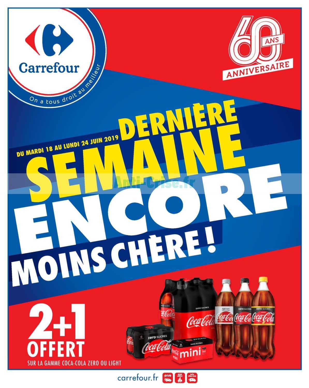 Catalogue Carrefour du 18 au 24 juin 2019 (Anniversaire 4)