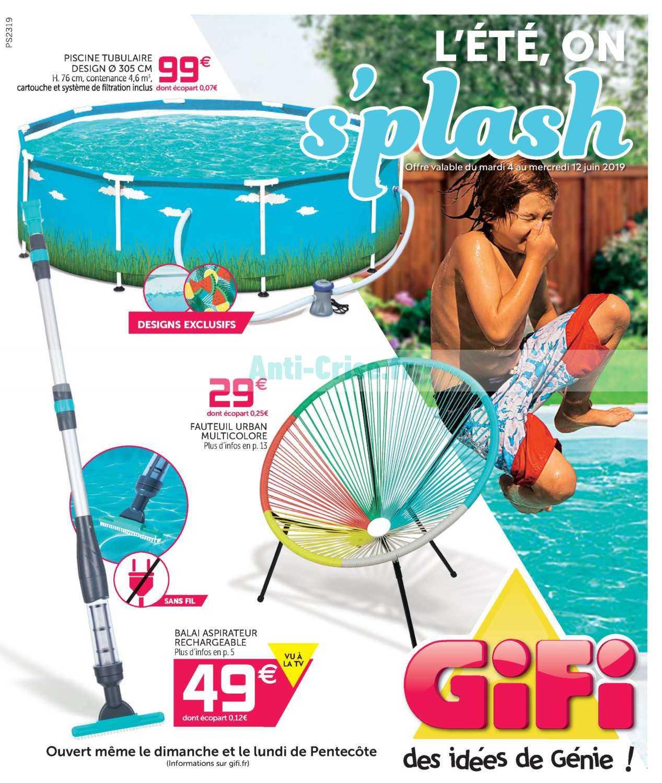 Catalogue Gifi Du 04 Au 12 Juin 2019 Catalogues Promos