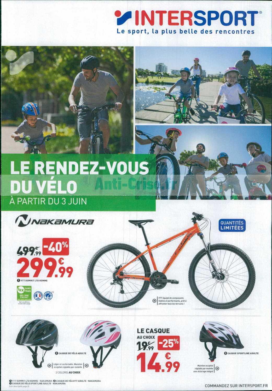Catalogue Intersport Du 03 Au 09 Juin 2019 Catalogues Promos Bons Plans Economisez Anti Crise Fr