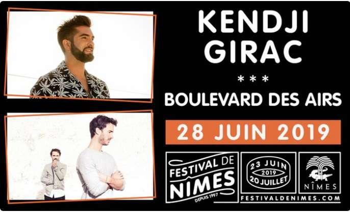 Bon plan concert Kendji Girac à Nimes à moitié prix