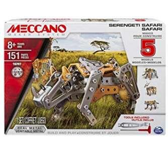 8,99€ la boite de Meccano Safari