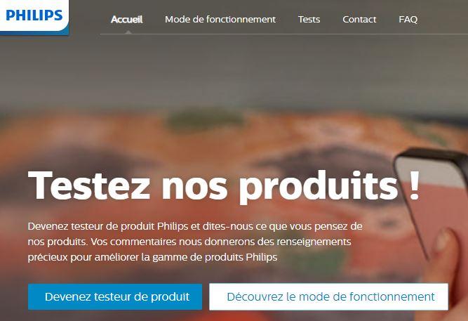 Tests de Produits les sites de marque