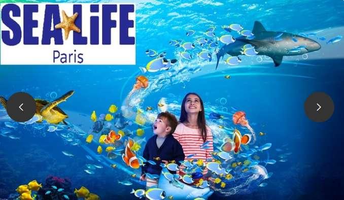 Aquarium Sea Life Val d'Europe : billets moins chers