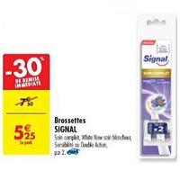 Brossettes Signal chez Carrefour (25/06 – 08/07)