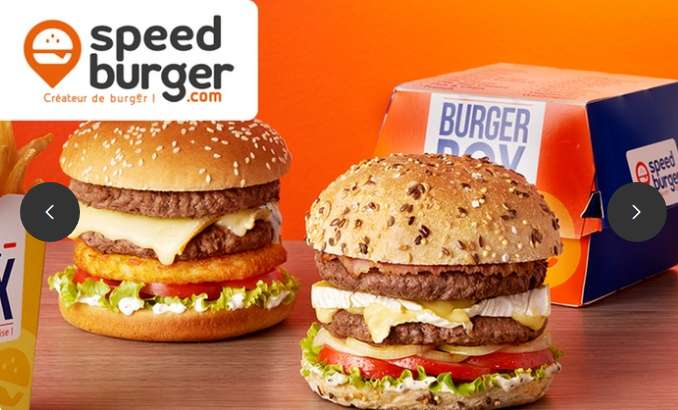 Speedburger : 1€ le coupon 1 menu acheté = 1 offert