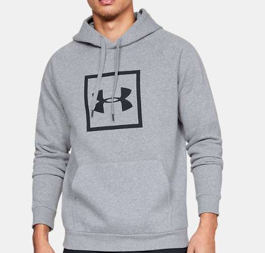 Autour de 20€ le Sweat à capuche Under Armour
