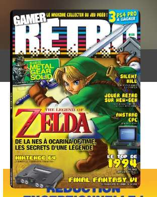 11,90€ l'abonnement à la revue VIDEO GAMER RETRO