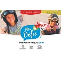 Auchan : Défis Waaoh! Jusqu'à 50€ (17/06 – 31/08)