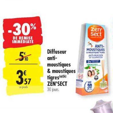Bâtonnets Insecticide Zen'sect chez Carrefour (23/07 – 29/07)