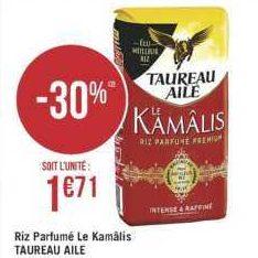 Riz Kamâlis Taureau Ailé chez Géant Casino (09/07 – 21/07)