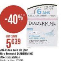 Crème lift+ Diadermine chez Casino (16/07 – 28/07)
