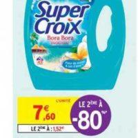 Lessive Liquide Super Croix chez Intermarché (16/07 – 28/07)