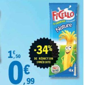 Fromage enfants Ficello chez Leclerc Est (09/07 – 20/07)