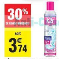 Détachant Super Power Fizz K2r chez Carrefour Market (23/07 – 04/08)