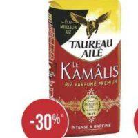 Riz Kamâlis Taureau Ailé chez Casino (09/07 – 21/07)