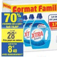 Lessive Liquide X-tra chez Carrefour Market (09/07 – 21/07)