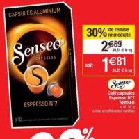 Café en capsules Senseo chez Cora (16/07 – 22/07)