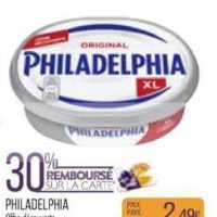 Fromage à Tartiner Philadelphia chez Match (09/07 – 21/07)