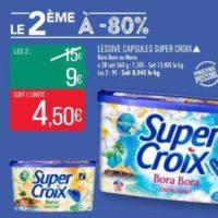 Lessive en Capsules Super Croix chez Match (09/07 – 21/07)