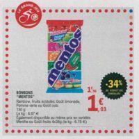 Bonbons Mentos goût Cola chez Leclerc (16/07 – 27/07)