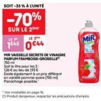 Liquide vaisselle Mir chez Leader Price (16/07 – 28/07)