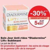 Crème Lift+ Diadermine chez Monoprix (17/07 – 29/07)