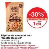 Pépites de Chocolat Nestlé chez Monoprix (17/07 – 29/07)