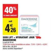 Crème Lift+ Diadermine chez Carrefour Market (16/07 – 28/07)
