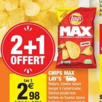 Chips Max Lay's chez Carrefour Market (23/07 – 04/08)
