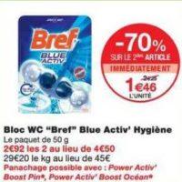 Bloc Wc Bref chez Monoprix (17/07 – 29/07)