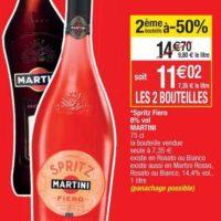 Apéritif Spritz Fiero Martini chez Cora (16/07 – 22/07)
