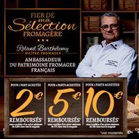Offre de Remboursement Fier de Ma Sélection Fromagère : Jusqu'à 10€ Remboursés sur le Fromage