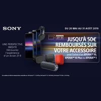 Offre de Remboursement Sony : Jusqu'à 50€ Remboursés sur Accessoires XperiaTM 10 ou Xperia 1 chez Orange