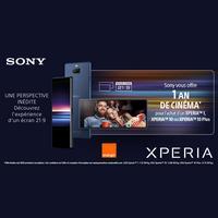 Bon Plan Sony / Orange : 1 An de Cinéma offert