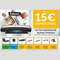 Offre de Remboursement Fellowes : Jusqu'à 15€ Remboursés sur Machine de Bureau