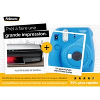 Bon Plan Fellowes : Appareil Photo Fujifilm Instax Offert