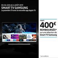 Offre de Remboursement Samsung : Jusqu'à 400€ Remboursés sur Téléviseur UHD