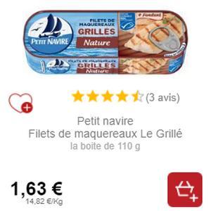 Filets de Maquereaux Petit Navire (29/07)