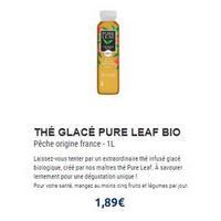 Pure Leaf chez Leclerc (01/07 – 29/07)