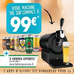 Offre de Remboursement Krups : Jusqu'à 30,90€ Remboursés sur machine The Sub Compact