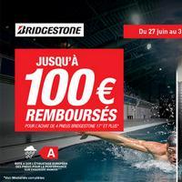 Offre de Remboursement Bridgestone : Jusqu'à 100€ sur les Pneus