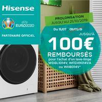 Offre de Remboursement Hisense : Jusqu'à 100€ Remboursés sur Lave-Linge