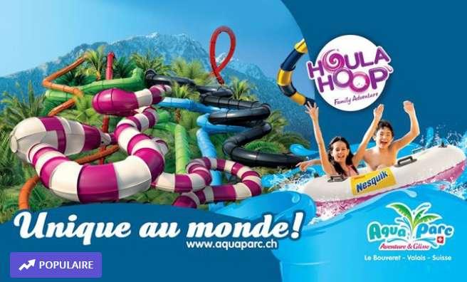 Aquaparc Suisse le Bouveret : entrée à 29€ !