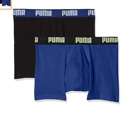 9,3€ les deux boxers Puma pour hommes