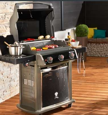 Castorama : destockage barbecues WEBER