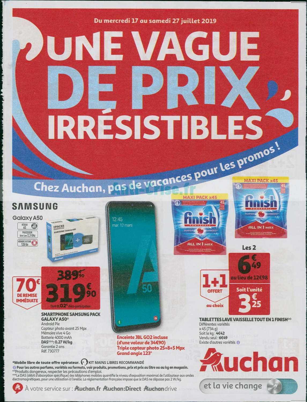 Catalogue Auchan du 17 au 27 juillet 2019
