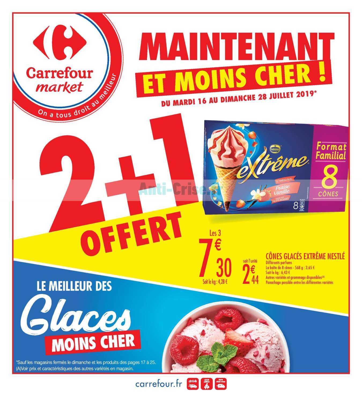 Catalogue Carrefour Market du 16 au 28 juillet 2019